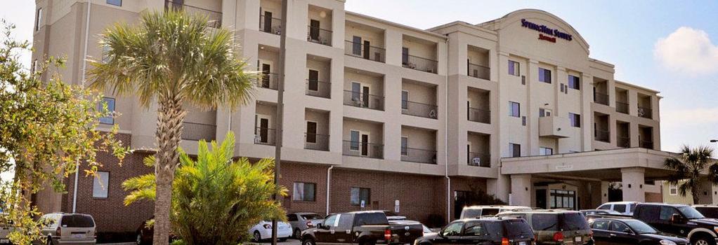 SpringHill Suites by Marriott Galveston Island - Galveston - 建築