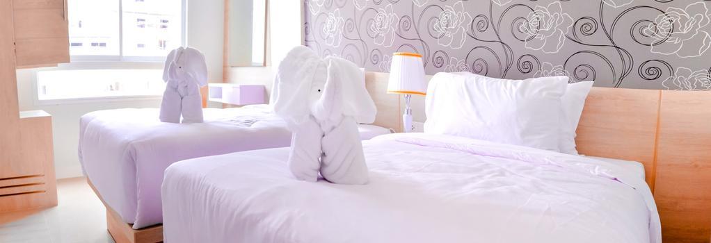 Mirage Express Patong Phuket Hotel - 巴東 - 臥室