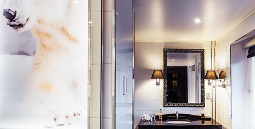 北極之光飯店 - 羅凡尼米 - 浴室
