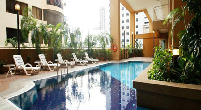 A BEST Seri Bukit Ceylon Serviced Residence - 吉隆坡 - 游泳池