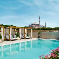 Sura Hagia Sophia Hotel Pool Waterfall