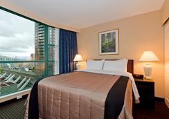 羅瑟達爾羅布森套房酒店 - 溫哥華 - 臥室