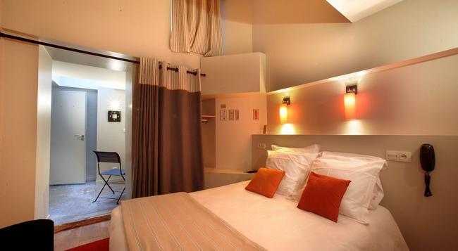 Hotelo - 里昂 - 臥室