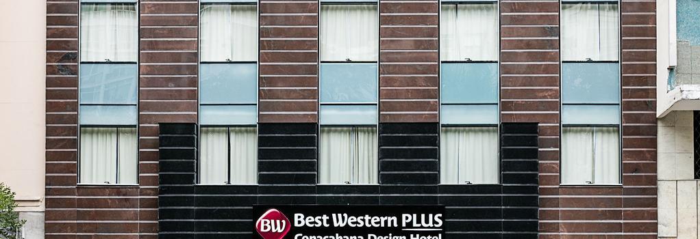 Best Western Plus Copacabana Design Hotel - 里約熱內盧 - 建築