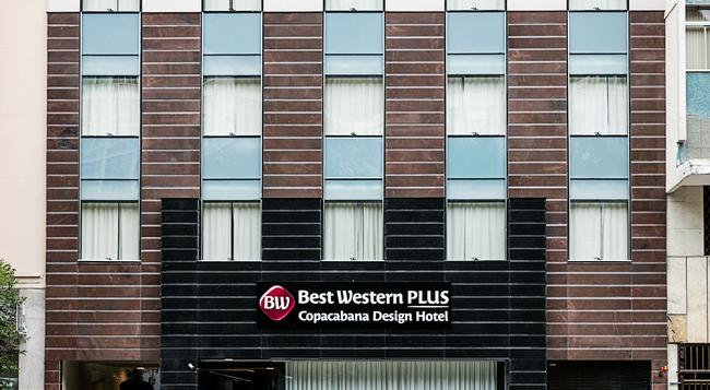 Best Western Plus Copacabana Design Hotel - 里約熱內盧 - 建築