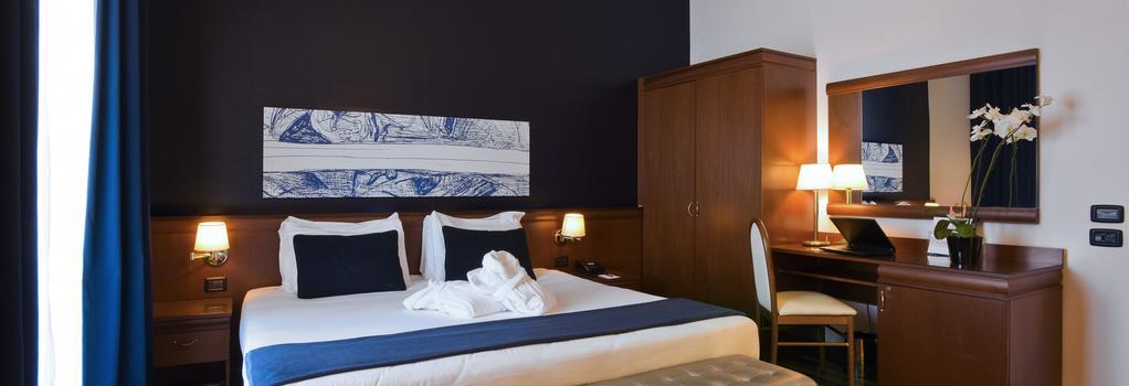 Grand Hotel Tiberio - 羅馬 - 臥室