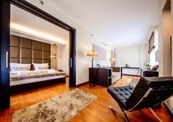 布達佩斯大陸酒店 - 布達佩斯 - 臥室