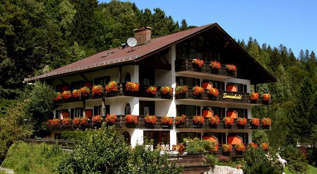 Landhaus Sonnenbichl Mittenwald - Mittenwald - 室外景