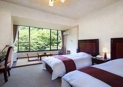 塔之澤世嘉濤灣酒店 - 箱根 - 臥室