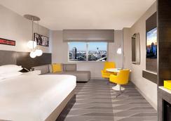 雷迪森洛杉磯機場酒店 - 洛杉磯 - 臥室