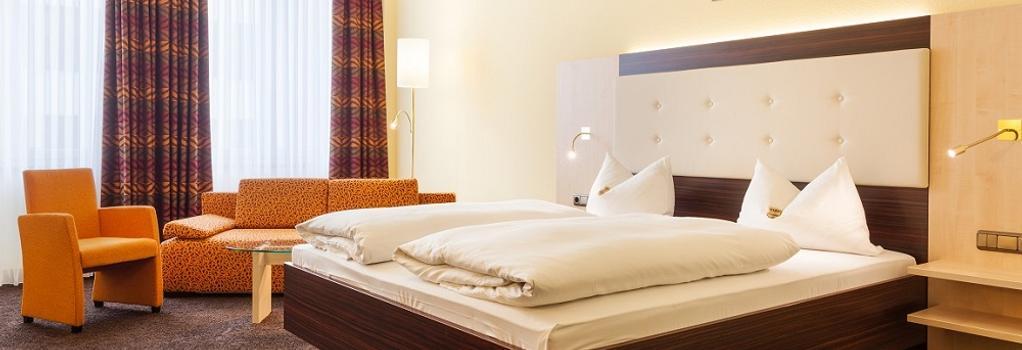 Hotel Garni Augusta - 奧格斯堡 - 臥室