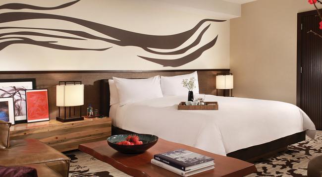 Nobu Hotel - 拉斯維加斯 - 臥室