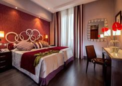 摩甘納酒店 - 羅馬 - 臥室