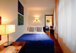 阿蒙公寓式酒店 - Krakow - 臥室