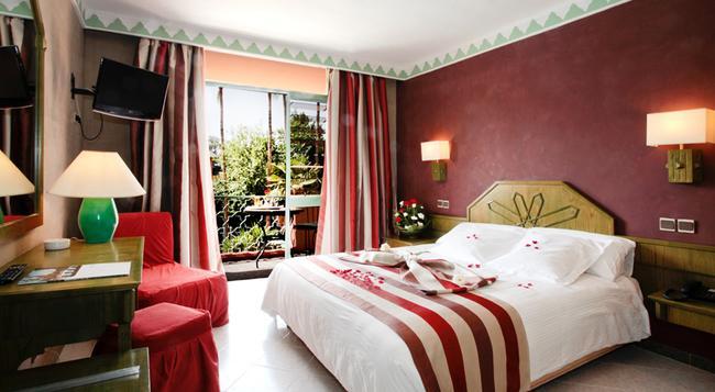 Hôtel Chems - 馬拉喀什 - 臥室