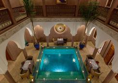 瑪格達及Spa傳統庭院住宅 - 馬拉喀什 - 游泳池