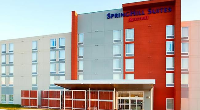 SpringHill Suites by Marriott Salt Lake City Airport - 鹽湖城 - 建築