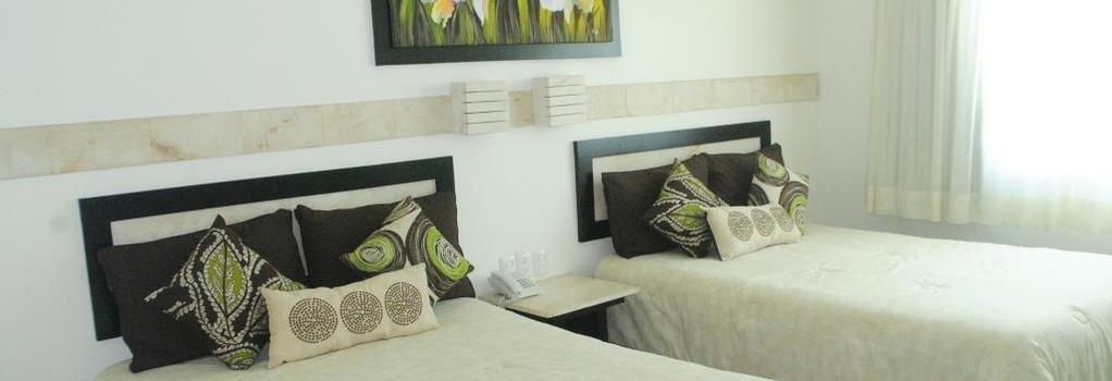 Hotel Tulijá Express Palenque - 帕倫克 - 臥室