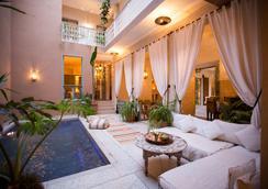 溫泉旅館 - 馬拉喀什 - 游泳池