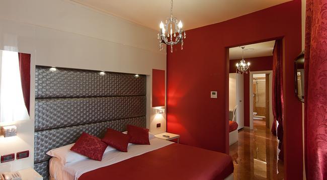 Hotel Fellini - 羅馬 - 臥室