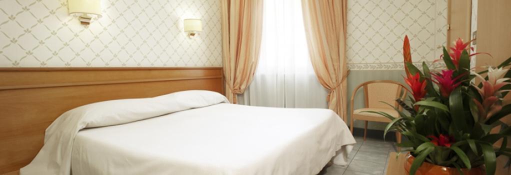 Kolping Hotel Casa Domitilla - 羅馬 - 臥室