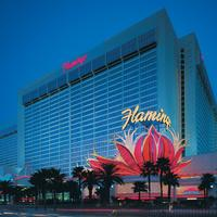 Flamingo Las Vegas Hotel Front - Evening/Night