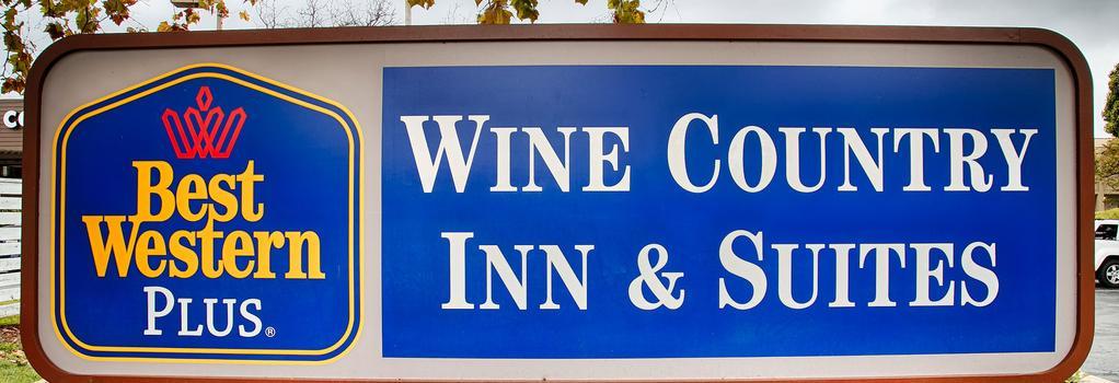 Best Western PLUS Wine Country Inn & Suites - 聖羅莎 - 建築