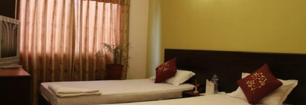 Cascade Hotel - 加德滿都 - 臥室