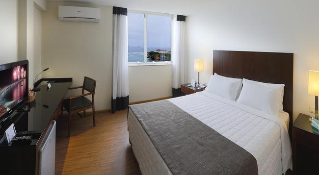 Orla Copacabana Hotel - 里約熱內盧 - 臥室