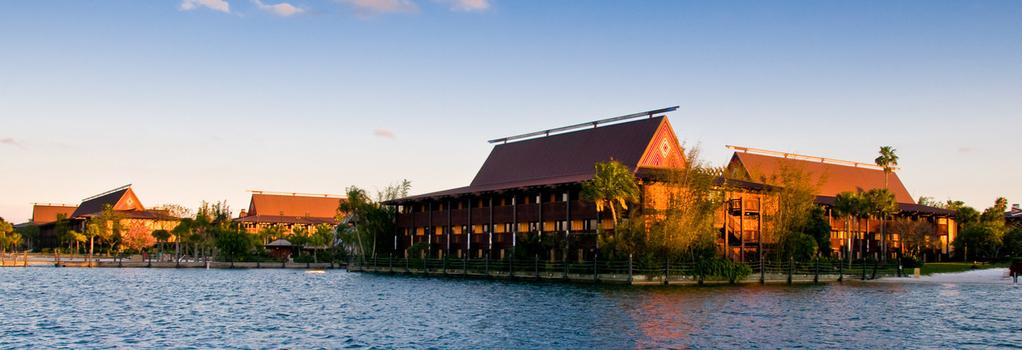 Disney's Polynesian Resort - 博偉湖 - 建築