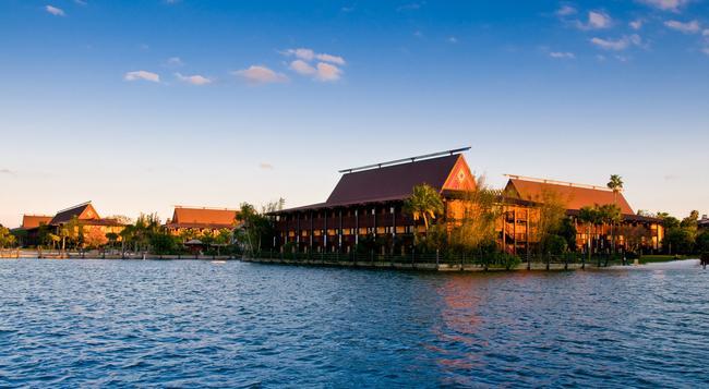 Disney's Polynesian Resort - 博偉湖 - 建築