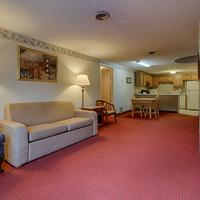 River Edge Motor Lodge Living Room