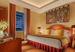 拉斐爾酒店-瑞雷斯及城堡 - 羅馬 - 臥室