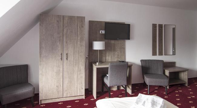 Hotel Maurer - 卡爾斯魯厄 - 臥室