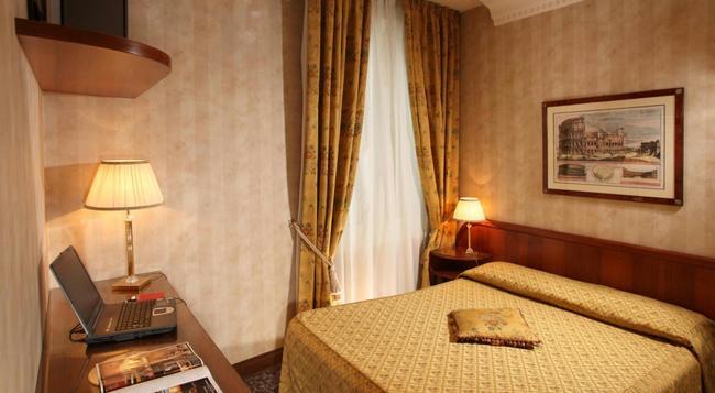 Hotel Condotti - 羅馬 - 臥室