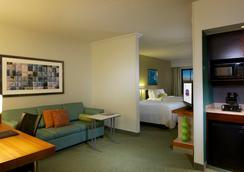 紐瓦克國際機場萬豪春季山丘套房酒店 - 紐瓦克 - 臥室