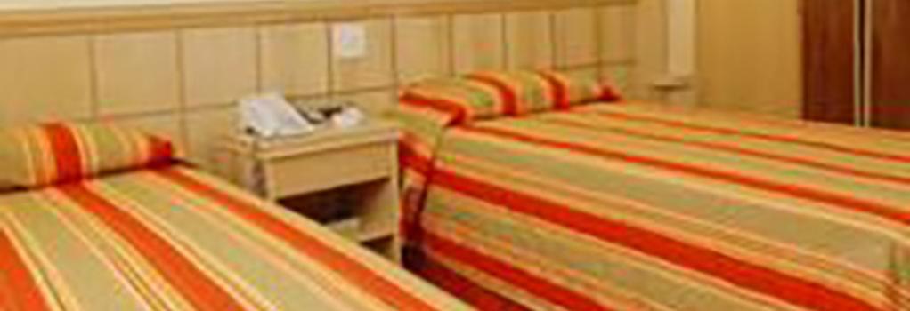 Hotel Atlantico Copacabana - 里約熱內盧 - 臥室