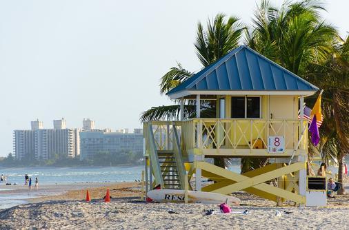 邁阿密機場汽車旅館公園道飯店 - Miami Springs - 海灘