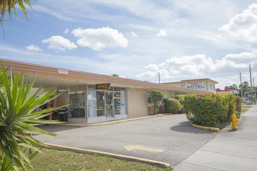 邁阿密機場汽車旅館公園道飯店 - Miami Springs - 建築