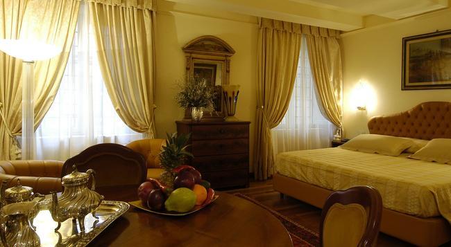Hotel Noblesse - 盧卡 - 臥室