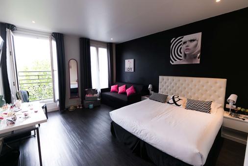 理想設計飯店 - 巴黎 - 臥室