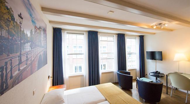 Hotel Residence Le Coin - 阿姆斯特丹 - 臥室