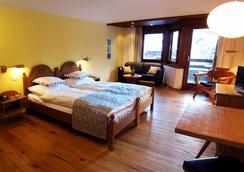 奧安林酒店 - Saas-Fee - 臥室