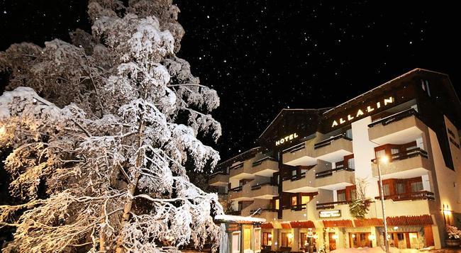 Hotel Allalin - Saas Fee - 建築