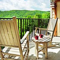 Holiday Inn Club Vacations Smoky Mountain Resort Balcony off of the 2-bedroom villa