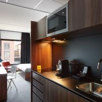 The Student Hotel Groningen In-Room Kitchenette