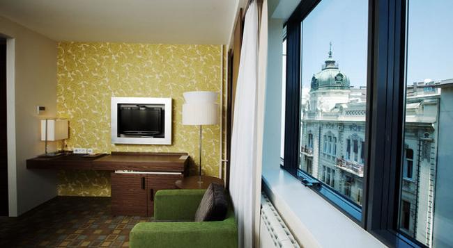 Belgrade Art Hotel - 貝爾格萊德 - 臥室