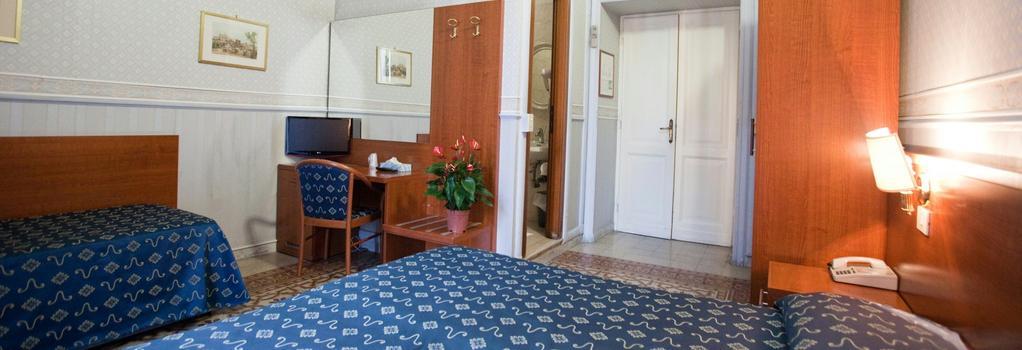 Hotel Emmaus - 羅馬 - 臥室