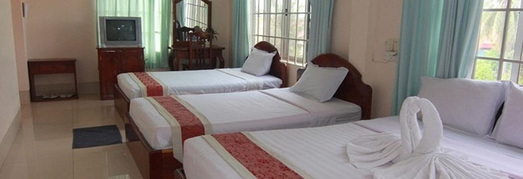 Siem Reap Riverside Hotel - 暹粒 - 臥室