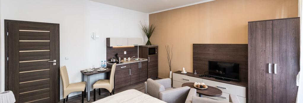 Hotel Residence Spalena - 布拉格 - 臥室